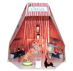 Zirkus – Cirque en papier et carton, distribué par Hase Weiss Circus Art, Circus Theme, Vintage Circus, Vintage Toys, Vintage Paper, Up Book, Book Art, Puzzle Photo, Diy For Kids