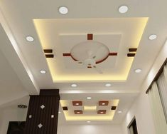 7 Wonderful Diy Ideas: False Ceiling Plan Living Rooms simple false ceiling home.False Ceiling Bathroom Sinks false ceiling design for reception. Simple False Ceiling Design, Gypsum Ceiling Design, House Ceiling Design, Ceiling Design Living Room, Bedroom False Ceiling Design, Bedroom Ceiling, Living Room Designs, Living Rooms, Ceiling Plan