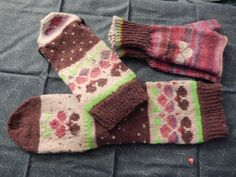 from ;Sock Art: Bold, Graphic Knits for Your Feet