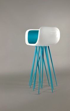 Millipede is a stool/chair created by Michael Samoriz of Umbra Design that's kind of jellyfish-like.