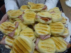 Ham and Brie Paninis – CATERING BY DEBBI COVINGTON   www.cateringbydebbicovington.com Paninis, Hors D'oeuvres, Recipe Of The Day, Brie, South Carolina, Ham, Catering, Appetizers, Meals