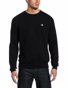 Champion Men's Champion Eco Fleece Crew Sweatshirt Champion. $7.00. Machine Wash. Percentage of recycled Fivers used to make this fabric. athletic-sweatshirts closure. Body: 9.3oz 80% Cotton/20% Polyester. Signature gray neck tape