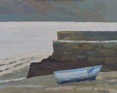 tide low, Ballyhack, 24x30cm_oil