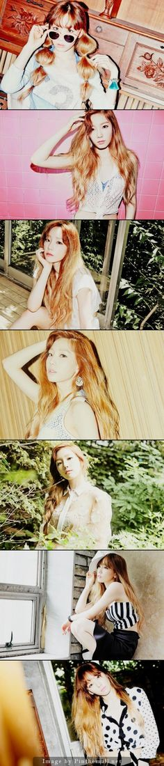 TTS Holler Teaser Pictures (Taeyeon) - created via http://pinthemall.net