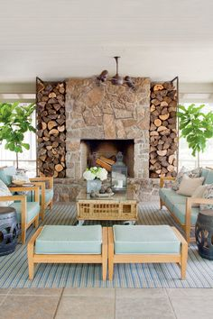 Breezy Porches and Patios. Nature-Inspired Porch