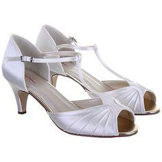 Buy Rainbow Club Katy Kitten Heel Sandals, Ivory Online at johnlewis.com