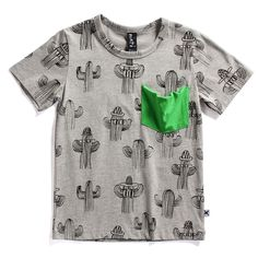 I saw this on one of my daughter's friends. He looked so edible in it, I just can't get enough of this Minti cactus print