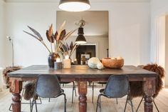 The unique and fabulous home of Swedish stylist Marie Olsson Nylander.