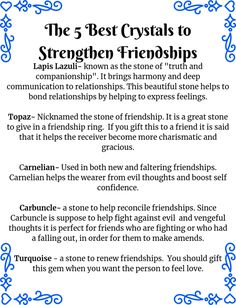 Want to strengthen your friendships? Maybe you have lost touch with a few of them. Here are 5 crystals that will help you to make your friendships a priority again. Crystal Uses, Crystal Magic, Feeling Lost, How Are You Feeling, Rose Quartz Meaning, When You Feel Lost, Spiritual Decor, How To Express Feelings, Crystal Meanings