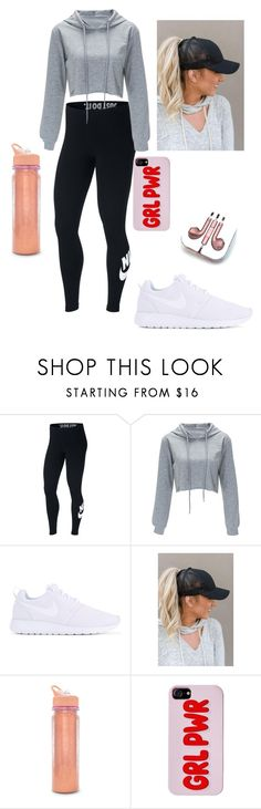 """Workout Day!"" by pmer9271 on Polyvore featuring NIKE, ban.do and PhunkeeTree"