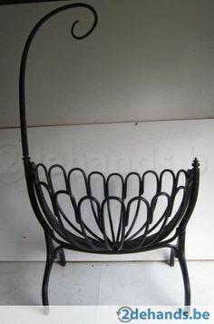 schitterende originele Thonet wieg
