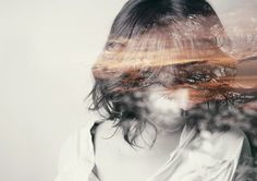The double exposure self-portraits of Miki Takahashi - Artists Inspire Artists
