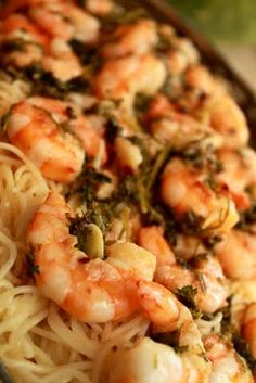 Pioneer Woman's Spicy Lemon Shrimp!