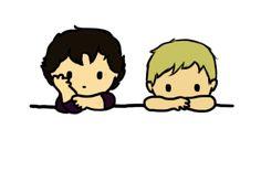 This is making me smile like an idiot. John and Sherlock think I'm cute. *blushing*