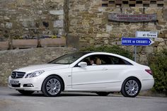 The Mercedes-Benz E-Class Coupe. European model shown.  For more information, visit: http://mbenz.us/KLfEdw