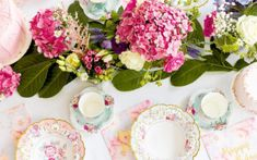 Plan the perfect afternoon tea with our gorgeous vintage tea party ideas - including decorating ideas and everything you need for a cute tea party theme. Bridal Shower Tea, Tea Party Bridal Shower, Bridal Luncheon, Table Cadeau, Paper Tea Cups, Tea Party Theme, Baby Theme, Party Hire, Party Fun
