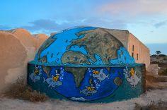 Jace (Reunion Island) streetart erriadh djerba tunisia