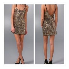 1 HR SALE✨ Intimately Free People Sequin NYE Dress Sequin Mini Slip Dress Low Back Adjustable Straps    Multi Colored Sequins on Black Mesh Shell 100% Nylon   Great for layering   Can be used as top or dress   Please note this item is see through and micro mini, I would suggest wearing a black slip under   Sorry No trades Free People Dresses Mini