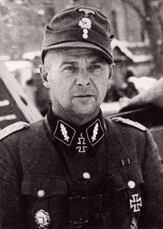 SS-Standartenführer Voldemārs Veiss was decorated with the Knight's Cross on 9 February 1944 as commander of 2. Lettische SS-Freiwilligen-Brigade. He was the first Latvian to receive the Knight's...