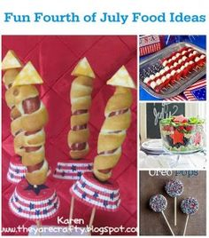 Fun Food Ideas for a Fourth of July Celebration | Chocolate Cake Moments