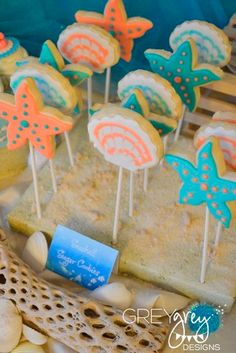 cookies fundo do mar