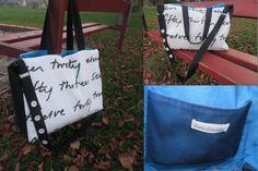 Handmade bag - Handmade taška #handmade #accessories #bag #modrykonik