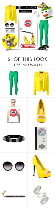 """""""Get The Look - Bowser Jr"""" by xmichi-chanx ❤ liked on Polyvore featuring MICHAEL Michael Kors, Alexandre Vauthier, Valfré, Promise Shoes, CellPowerCases, Nintendo, GlassesUSA, Bobbi Brown Cosmetics and Topshop"""