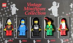 5000440-1: Vintage Minifigure Collection Vol. 4 (TRU edition)