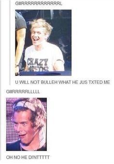Giiirrrllll u will not believe who just text me!  Ggiiiiirrrrrlllll no he didn'tttt! LOL