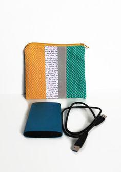 Tasche für die Festplatte