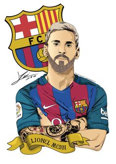 Full Vector Messi (Full Color)