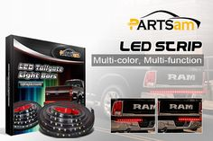 Partsam LED Tailgate Light Strips Why not have a look?