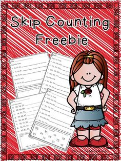 Skip Counting Freebie for second grade math tallers mates 2nd Grade Classroom, Math Classroom, Classroom Ideas, 2nd Grade Teacher, Math Resources, Math Activities, Math Games, Math Stations, Math Centers