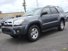 Looks just like my lil' mule. 2007 Toyota 4 runner. I am sure 300K miles will be easy in this thing! More than halfway there and rock solid
