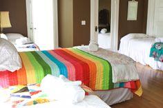 Rainbow quilt :)  »Craft House