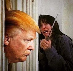 """Here's Donald!"" The Shining parody Trump"