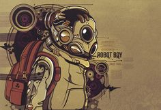 Linkin Park - robot boy
