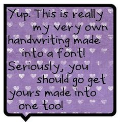 make my handwriting into a font for free!