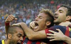 LIGA, EL SUPER CLASICO: Barcellona-Real Madrid 2-1 video gol, trionfo blaugrana #barcellona # #real #madrid # #liga # #neymar