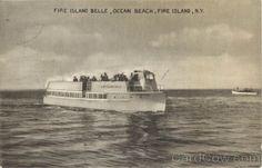 Fire Island Belle, Ocean Beach New York Boats, Ships