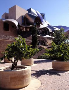 City Of Wine Complex Marqués De Riscal ( Gehry Partners LLC) by Areniscas as Manufacturers