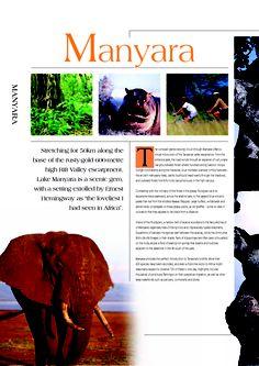 VISIT LAKE #MANYARA NATIONAL PARK IN #TANZANIA! www.tanzaniaparks.com
