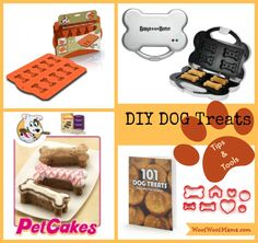 Oh no....I'm gonna want all this..... Tips, Kits and Tools To Make Your Own Dog Treats