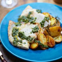 Swordfish Steaks & Sautéed Potatoes with Gremolata - Gino D'Acampo Official Website Seafood Dishes, Fish And Seafood, Tuna Recipes, Cooking Recipes, Gino D'acampo, Swordfish Steak, Steaks, Steak