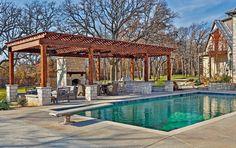 Swingline pool house - Modern - Patio - New York - Resolution: 4 Architecture