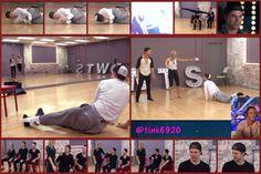Team HoughKin's rehearsal pckg for week 7 Eras Week
