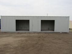 40' High cube with man door and roll doors