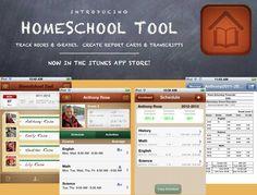Homeschool schedule app