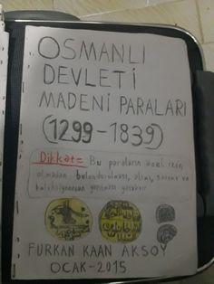 Osmanlı madeni paraları kataloğu (1299-1839)   Bu eserde koleksiyonu özel izne dayalı olan Osmanlı sikkeleri anlatılır.