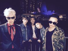 Happy new year !!!!!!! Seung Ri ♥ twitter update with his BigBang Boys T.O.P ♥, GD ♥, Taeyang ♥ and Daesung ♥ 31/12/2014